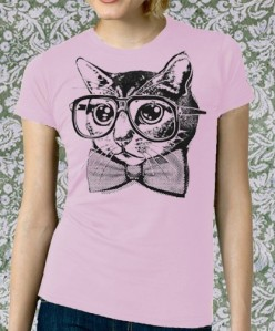 Cat geek tee on ebay