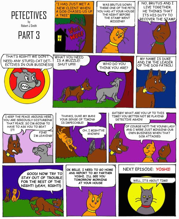 petectives webcomic part 3