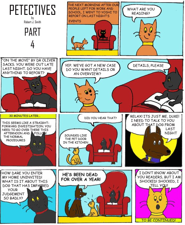 petectives webcomic part 4