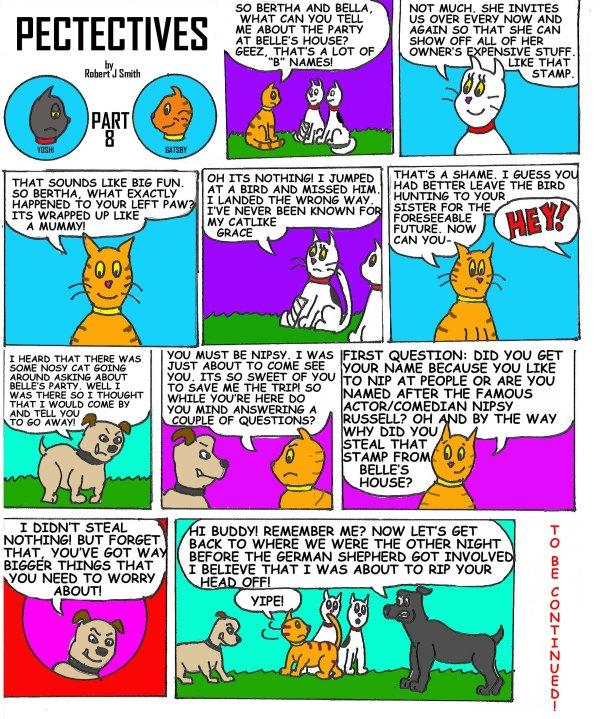 petectives webcomic part 8