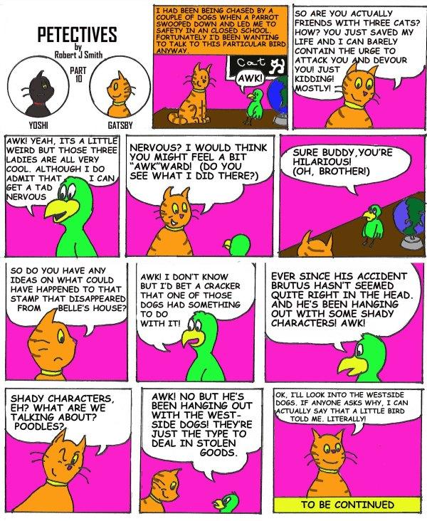 petectives webcomic part 10