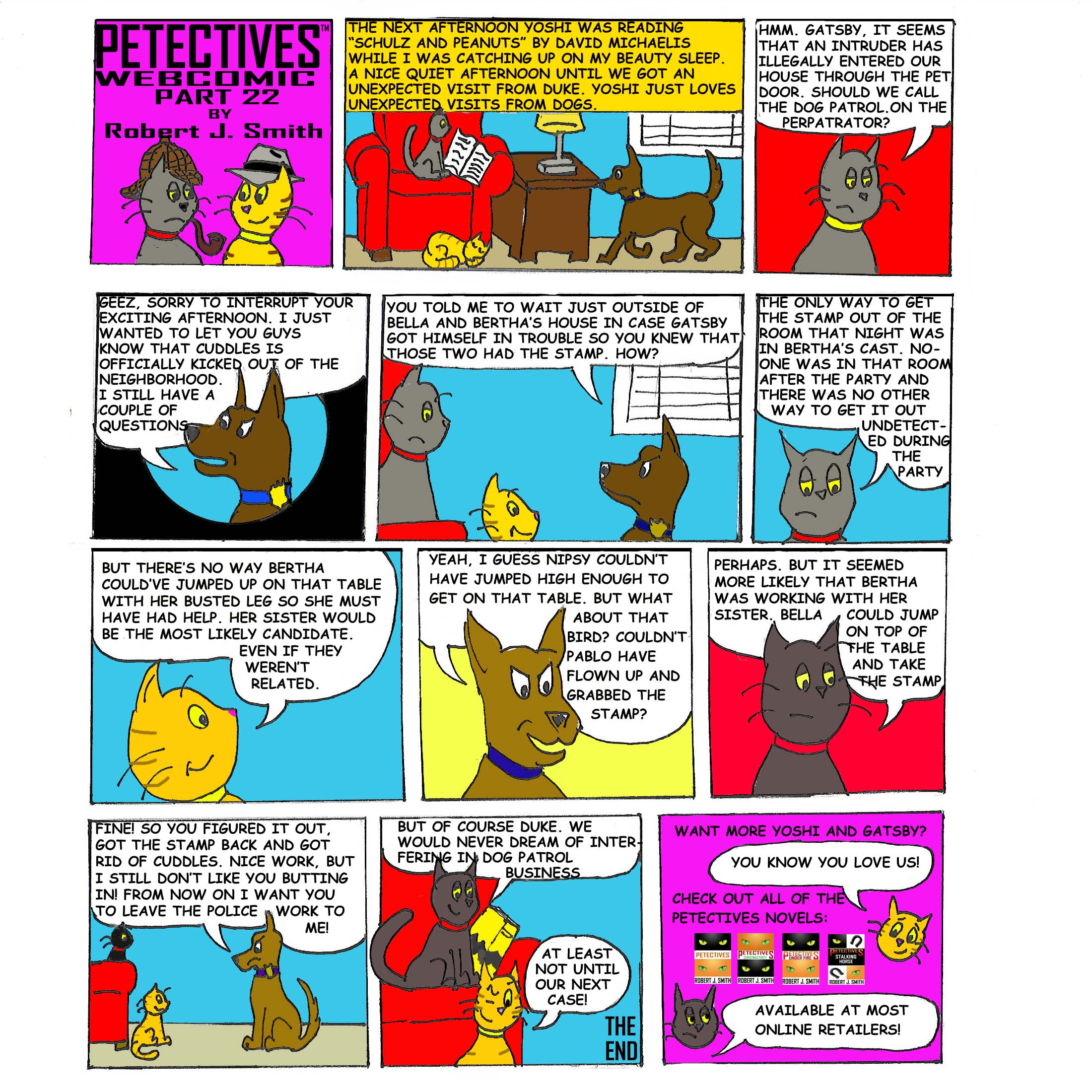 petectives webcomic chapter 22 petectives