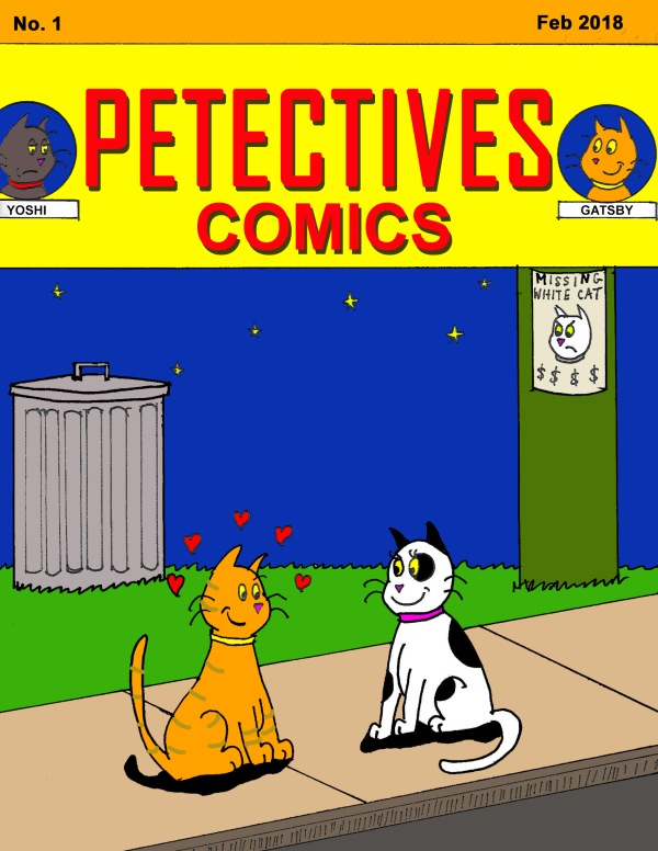 Petectives comicbook cover